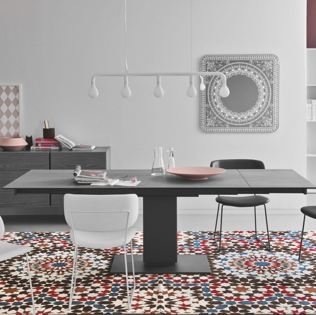 Calligaris echo extendable table - Calligaris balances ...