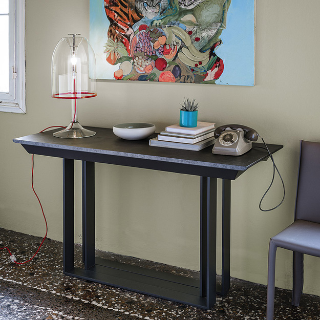 cattelan italia party extending console table. Black Bedroom Furniture Sets. Home Design Ideas