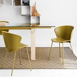 Calligaris chairs for Calligaris saint tropez