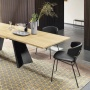 Calligaris Icaro Wood Extending Table