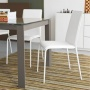 Connubia Calligaris Eminence Glass With Wood Legs Table