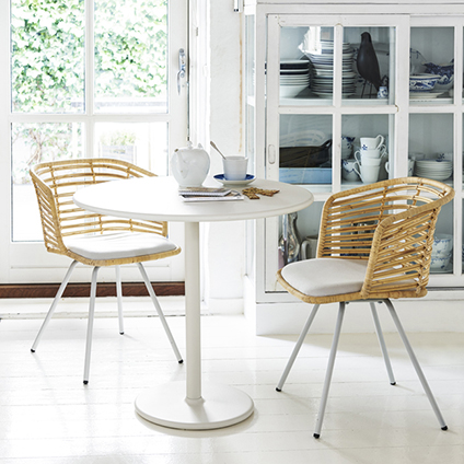 Cane-line Indoor Spin Rattan Chair