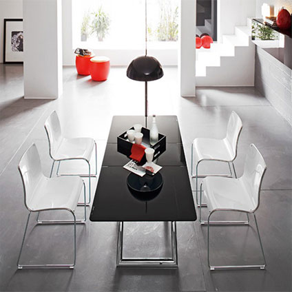 Calligaris-Magic-J-Glass-Table