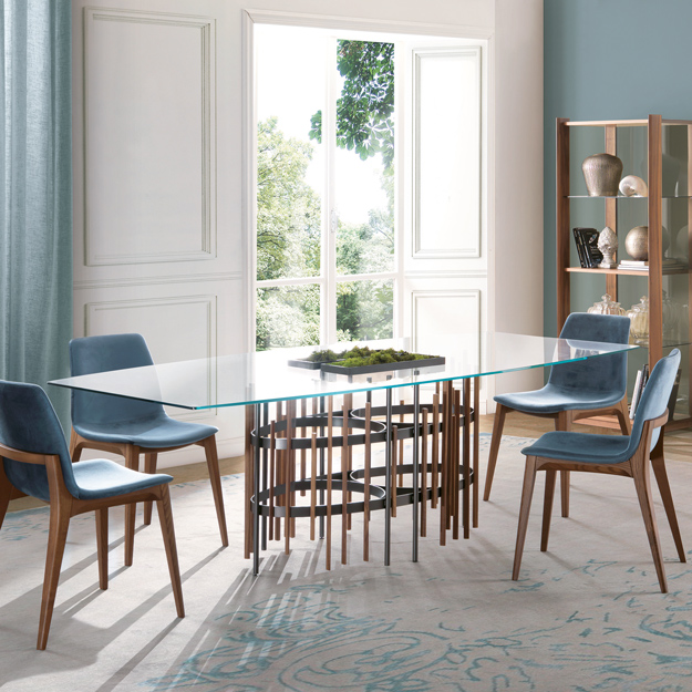 Pacini & Cappellini Tube Dining Table