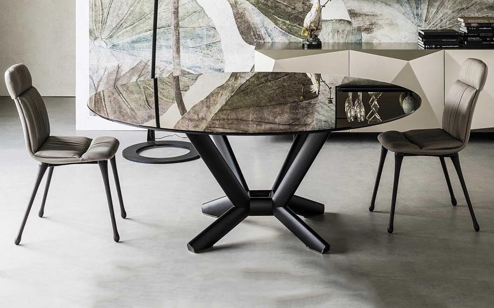 Planer Round Table by Cattelan Italia at Lime Modern Living