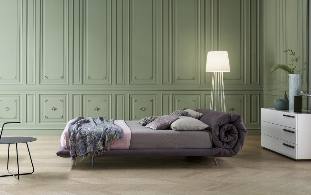 Bonaldo-Blanket-Bed-Lime-Modern-Living