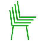 stackable chairs symbol