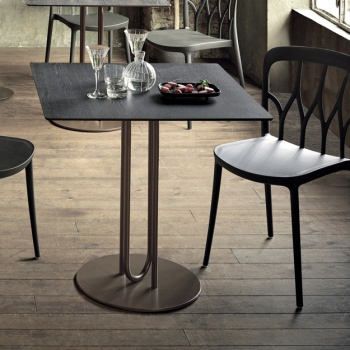 Bontempi Casa Rail Bistro Table