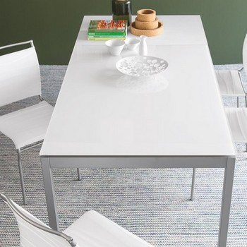 Calligaris Snap Glass Table