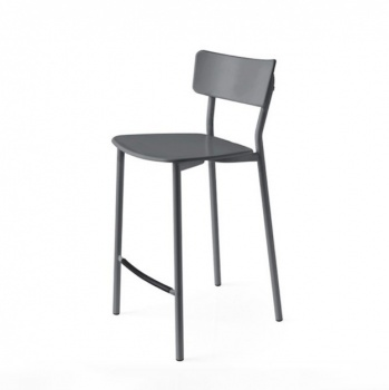 Connubia Calligaris Jelly Metal Bar Stool