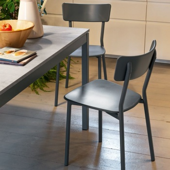Connubia Calligaris Jelly Metal Chair