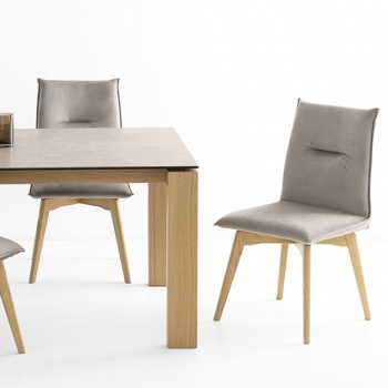 Connubia Calligaris Maya Chair Wood Legs