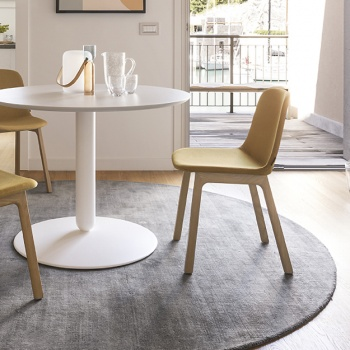 Calligaris Vela Chair Wood Legs