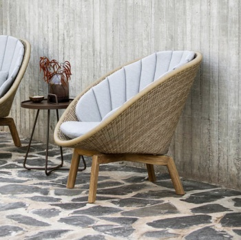 Cane-line Peacock Weave Lounge Chair