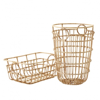 Cane-line Indoor Carry Me Rattan Basket