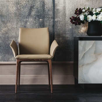 Cattelan Italia Arcadia Chair With Arms