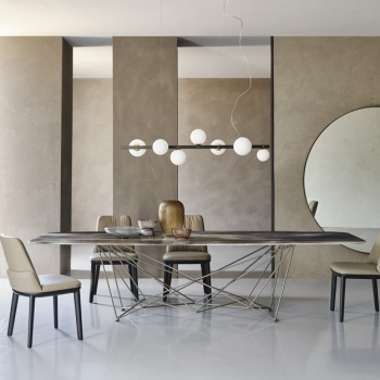 Cattelan Italia Gordon CrystalArt Table