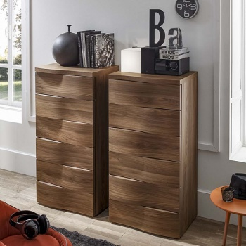 Wave Mix Tall Chest of Drawers