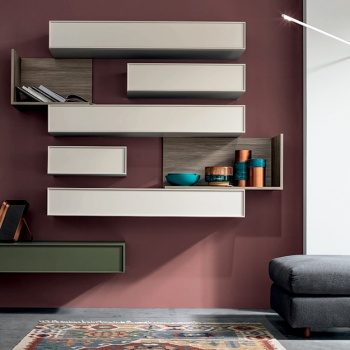 Stripe Wall Unit