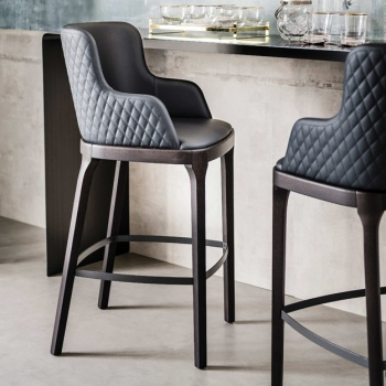 Cattelan Italia Magda Couture Bar Stool