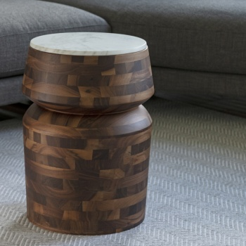 Porada Bouchon Marmo Side Table