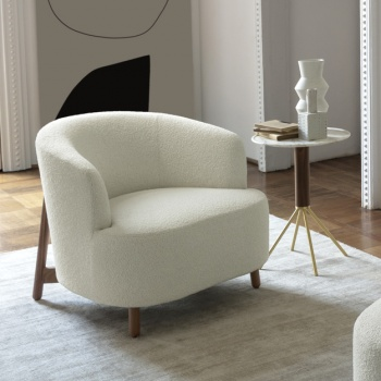 Porada Copine Wood Armchair