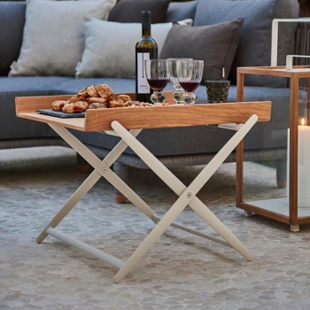 Cane-line Indoor Rail Folding Side Table