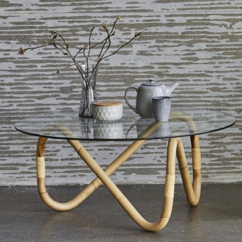 Cane-line Indoor Wave Coffee Table