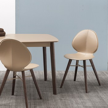Calligaris basil cross chair wood legs for Calligaris basil w