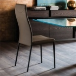 Cattelan Italia Anna High Back Chair