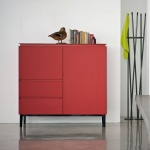 Bontempi Casa Cosmopolitan Small Glass Sideboard