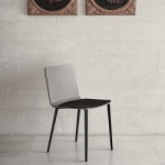 Bontempi Casa Kate Chair Metal Legs