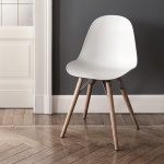 Bontempi Casa Mood Chair Wood Legs