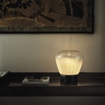 Bontempi Casa Stone Table Lamp