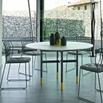 Bontempi Casa Glamour Ring Table