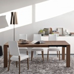 Calligaris Sigma Wood Extendable Table