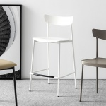 Connubia Calligaris Clip Bar Stool