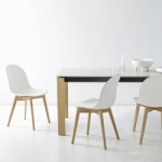 Connubia Calligaris Eminence Fast Table Wood Legs