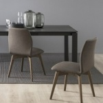 Connubia Calligaris Hexa Chair Wood Legs