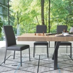 Calligaris Bess Chair Metal Legs