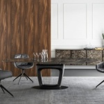 Calligaris Orbital Extendable Table