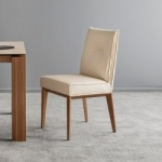 Calligaris Romy Chair With Wood Legs