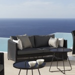 Cane-line Diamond Weave 2 Seater Sofa