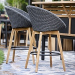 Cane-line Peacock Bar Stool