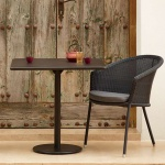 Cane-line Indoor Go Square Bistro Table