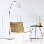 Cane-line Indoor Straw Lounge Chair