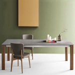 Connubia Calligaris Eminence Table Walnut Legs - In Stock