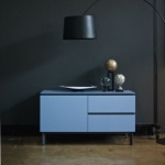Bontempi Casa Cosmopolitan Small Wood Sideboard