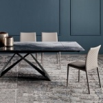 Cattelan Italia Premier CrystalArt Drive Table