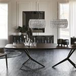 Cattelan Italia Atlantis Wood Table